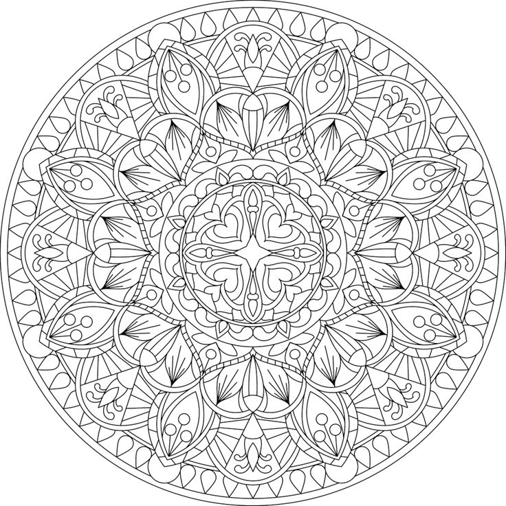 Knight S Promise Coloring Page With Images Mandala Coloring