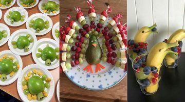 Herrlich gesunde Häppchen für Kinderfeste und andere Gelegenheiten