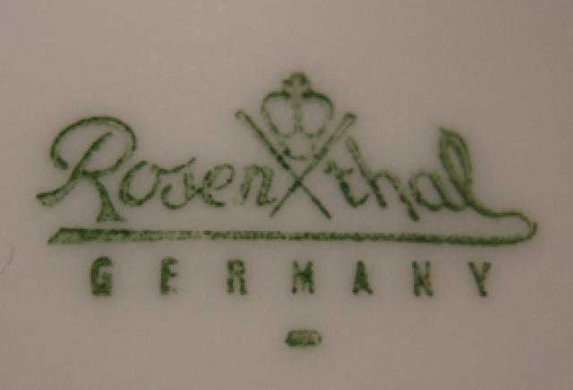 Dating rosenthal porcelain marks