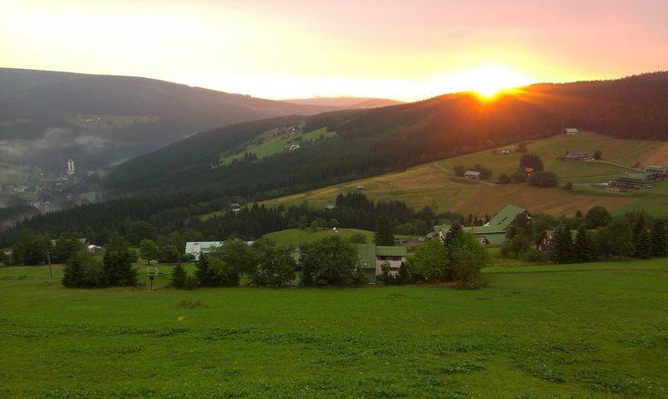 sunrise Krkonoše
