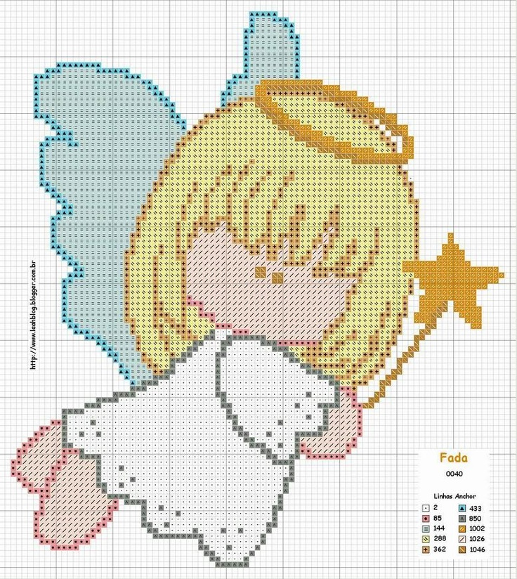 Flying angel pattern