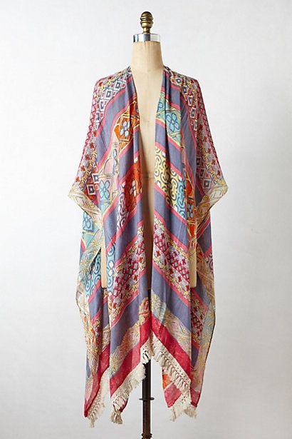Akumal Kimono Scarf - anthropologie.com #anthrofav #greigedesign