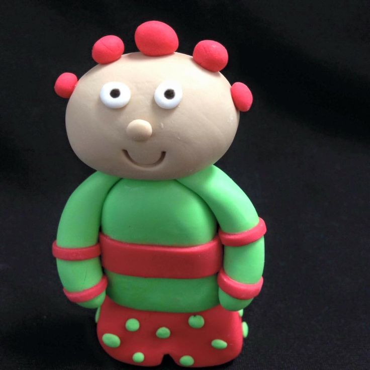 In the Night Garden Themed Cake Topper modelled by Coast Cakes Ltd