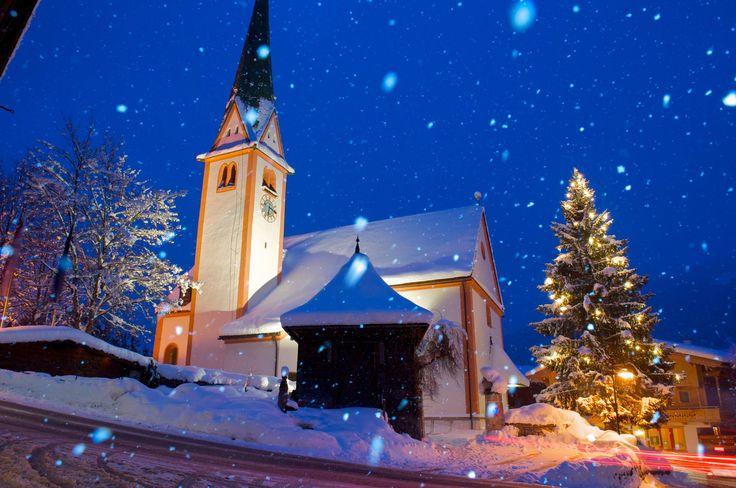 Alpbach Church, Austria