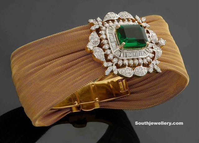 Stunning Diamond Bracelet by Sitara Jewellers - Indian Jewellery Designs South Jewellery