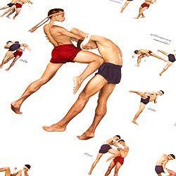 ムエタイ技一覧表 - タイの教育ポスターの写真2