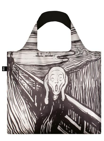 #Bag# Tasche# Sac # Bolsa#Emotionally evocative. Sometimes symbolic. Always alluring. 19th century Norwegian artist Edvard Munch became famous for his intense paintings and prints—most notably, his stunningly silent, The Scream.