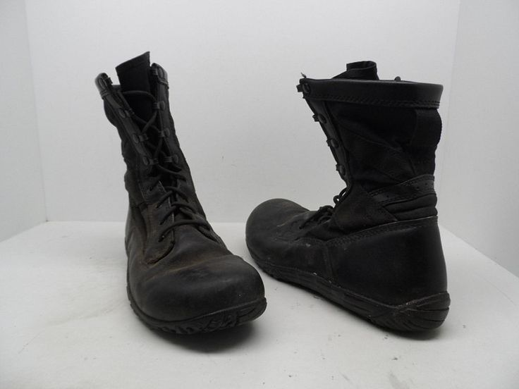 Tactical Research Men's TR102 Minimalist Boots Black Size 10 Used!!! #TacticalResearch #Military