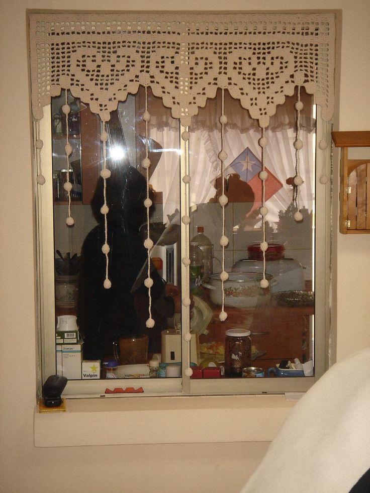 revista crochet cortinas y cenefas - Google Search