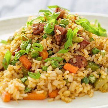 Sean Robbins Portuguese Sausage Fried Rice