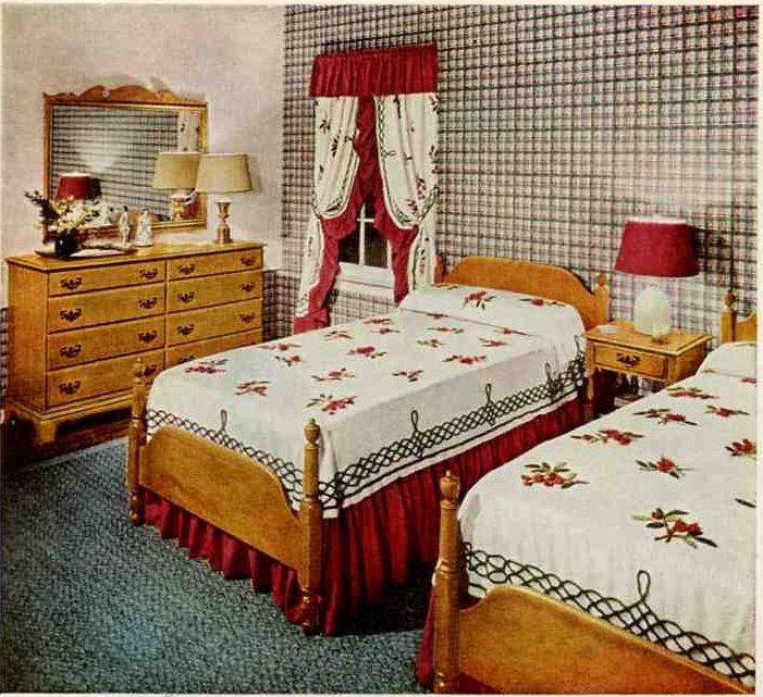 pictures of small bedroom designs 201 best 1940s decor images on vintage kitchen 19425