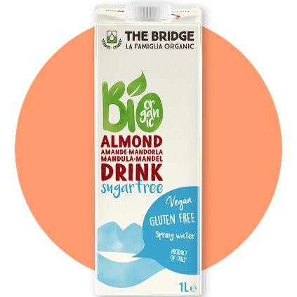 MLEKO MIGDAŁOWE BEZGL. BEZCUKRU (The Bridge, Włochy) | 1 litr, cena 10,90 na www.pureveg.pl Organiczny, wegański napój migdałowy przygotowany z wysokiej jakości składników BiO. O łagodnym, przyjemnym smaku. 3mlekoroslinne #mlekomigdalowe #bezglutenowe #bezcukru #weganskie #sklepweganski #pureveg