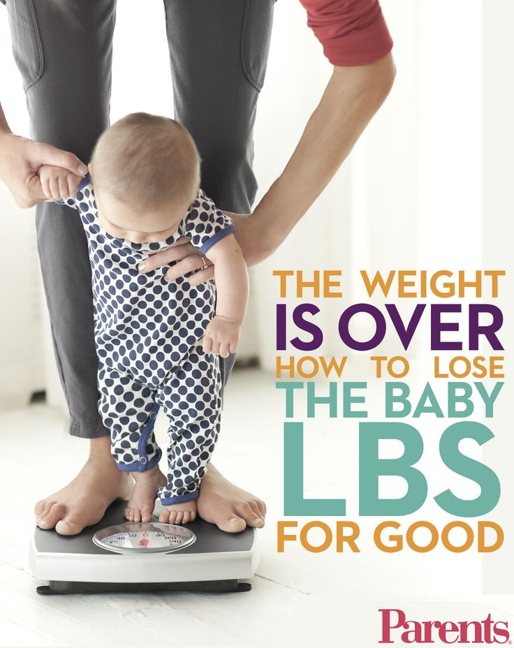 how to get rid of water weight after pregnancy