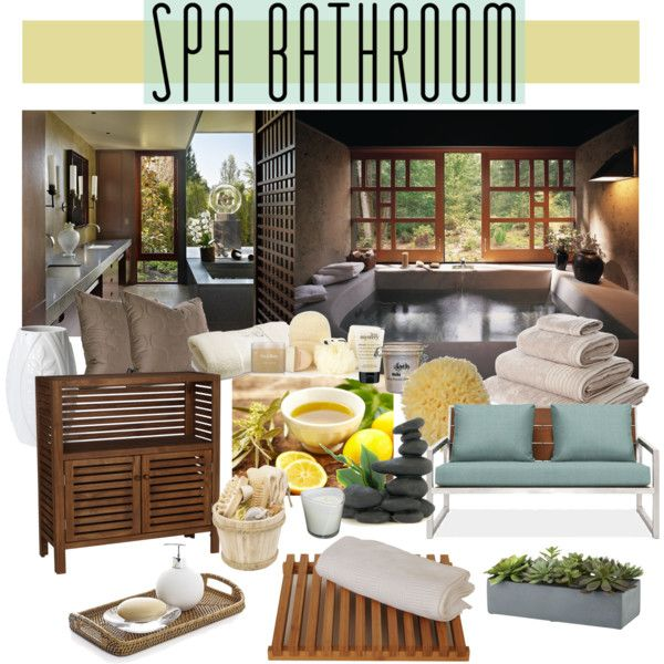 ideas for spa themed master bath