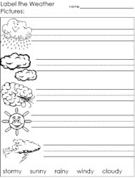 Printables Science Weather Worksheets Mywcct Thousands Of