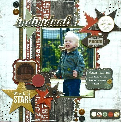 Attitude! Layout by Hilde Janbroers