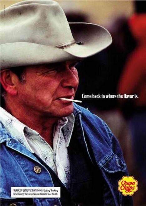 Chupa Chups anti Smoking Advertisement