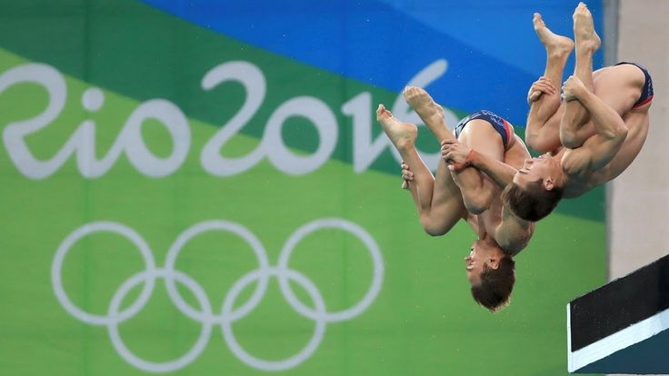 Tom Daley Wins 10m Synchronized Diving BRONZE With Daniel Goodfellow At ...