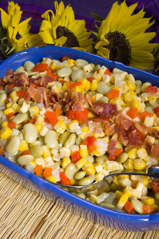 SUCCOTASH RECIPES en Pinterest | Receta succotash, Succotash de maíz ...