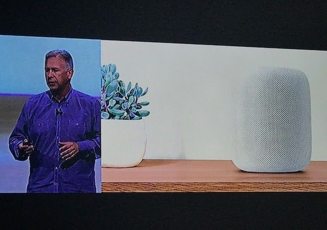 http://ift.tt/2rMArrF unveils its brand new Speaker HomePod http://ift.tt/2sKtd4Q  Apple has unveiled its brand new speaker HomePod. It was rumored that Apple would launch a speaker called Siri Speaker. But it has named it as HomePod  HomePod is 7 inches tall and has 7 tweeter array and 6 microphone on it. It can be accessed through Siri with a beautiful siri animation on top of HomePod.   With HomePod and Siri you can access to Music News Unit conversion messages reminders translation…