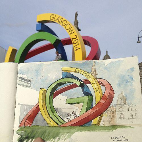 Commonwealth Games sculpture