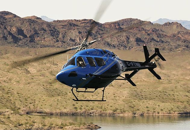 The Bell Helicopter 429 is one of the most advanced light twin IFR (Instrument Flight Rules) helicopters ever developed. The 429 has set the standard for light twins, delivering exceptional speed, range, hover performance and enhanced safety margins. The 429 boasts a spacious cabin with 204ft3 (5.78m3) of usable volume, optional rear clam-shell doors and seating for 7 passengers and 1 crew.