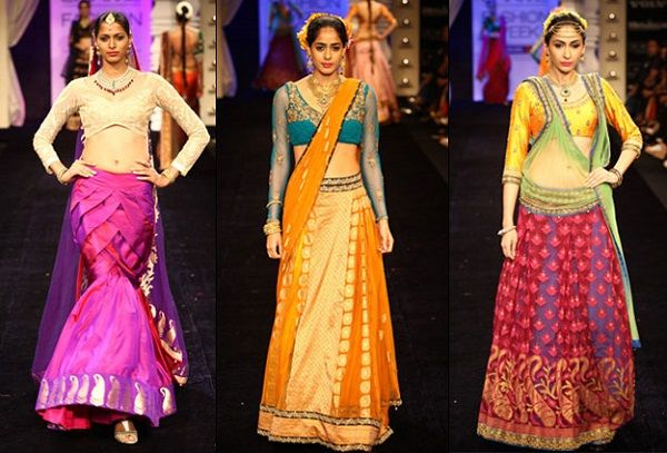 Neon Ghaghra #NRISeason #FashionTrends