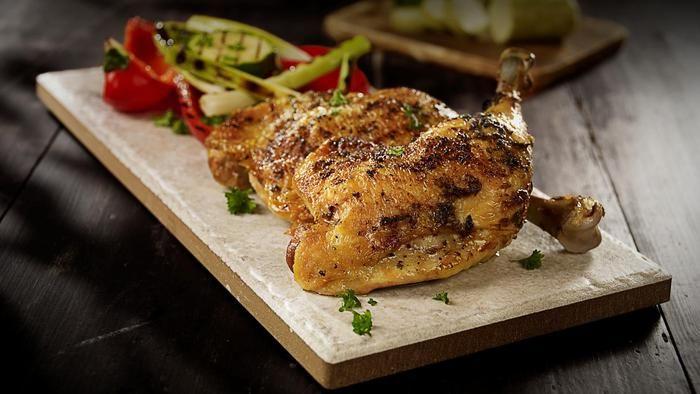 Grillede aromatiske kyllinglår