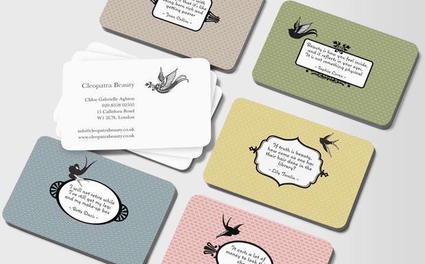 These beauty quote cards are framed by vintage style mirrors that lend a classy 1950's boudoir feel. Beauticians, spa owners, stylists and make up artists in search of new business cards – get inspired by the wise words of some of the most famously beautiful women in the world #moocard #businesscard