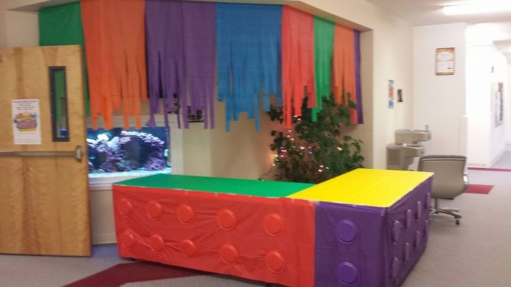 Love this welcome area sent in from VBS Land! www.cokesburyvbs.com