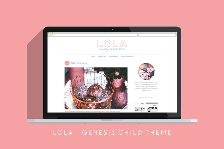 Lola - Lovely, Minimal Theme - Blog - 1