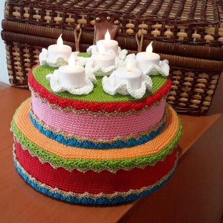 Een taart voor de kleuterklas van mijn dochter