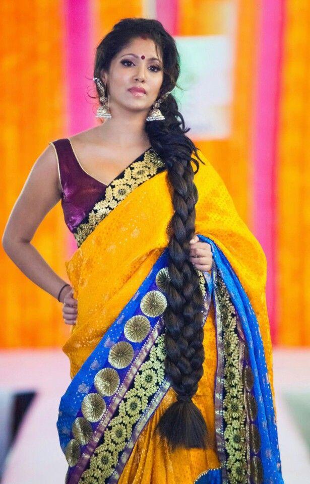 Indian Long Braid Girl