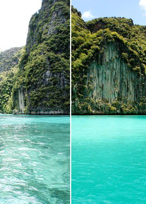 Après la déception à Patong on a booké pour une petite excursion dans les îles parce que c'est là que sont les belles plages et qu'a priori y'a moins de gens.Etant en basse saison, on a eu 55% de …