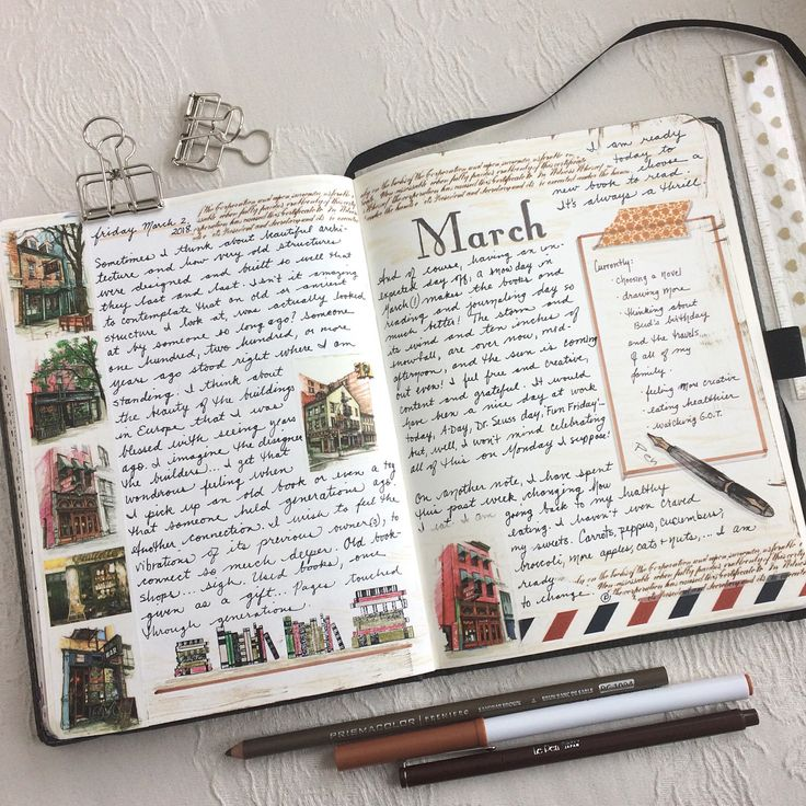 An introvert's journal journey. March 3, 2018. More on Instagram @kathrynzbrzezny