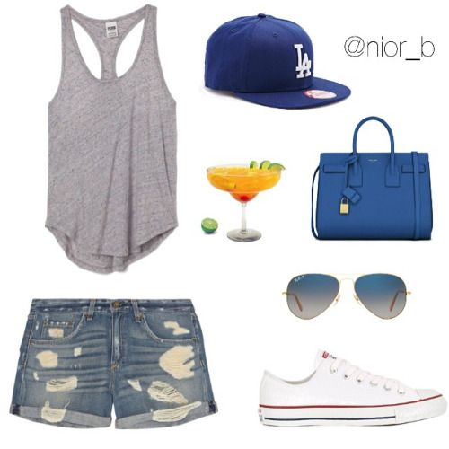 Dodger Game Outfit
