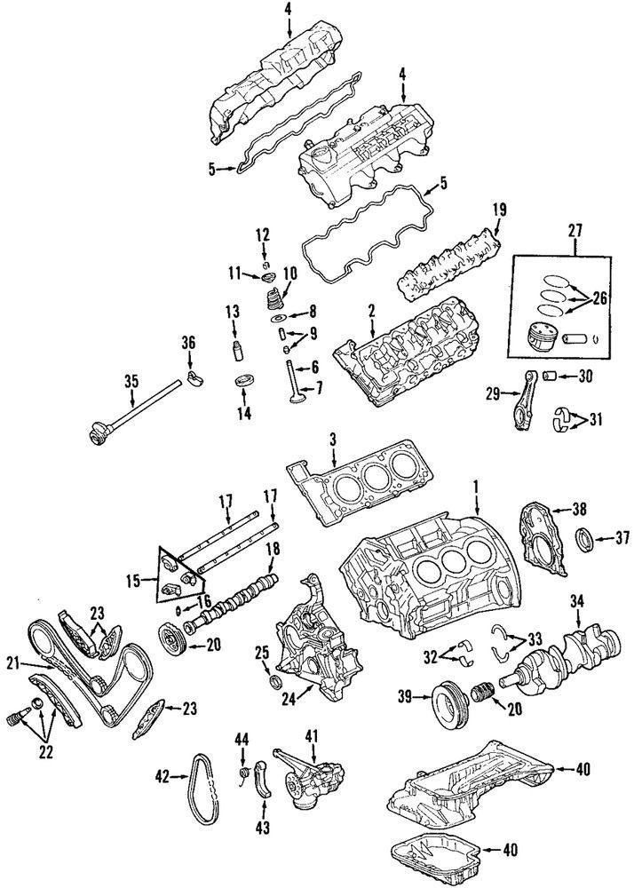 Genuine Mercedes-Benz Head Gasket 112-016-10-20 | Bmw engines, Cylinder  head, BmwPinterest