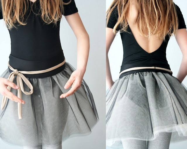 DIY dance skirt. No instructions here, but I may be able to figure it out...hopefully!