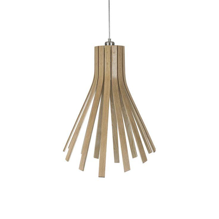 Discover the Tom Raffield Flux Light - Oak/Ash at Amara