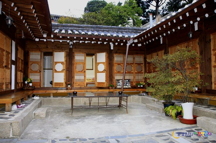 Seoul: traditional Korean house