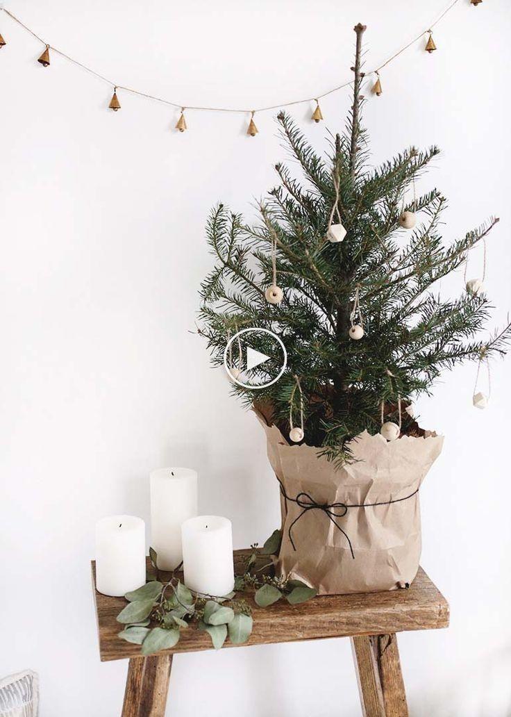 Plus De 25 Idees De Decoration De Noel Brillantes Et Inspirantes Kerst Kerstdecoratie Scandinavische Kerst