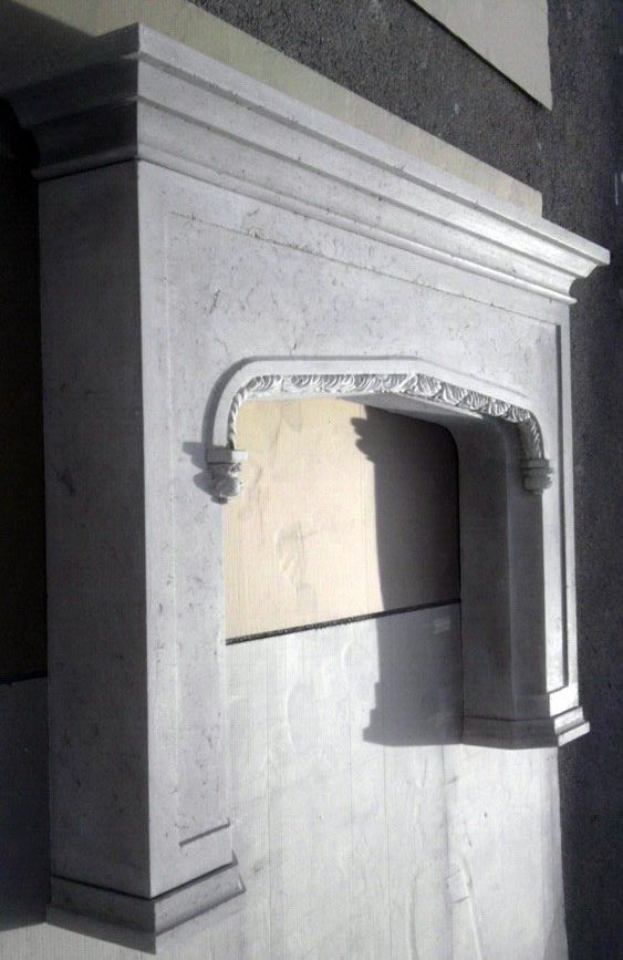 Fireplace Design cast stone fireplace surround : 16 best images about cast stone fireplaces on Pinterest