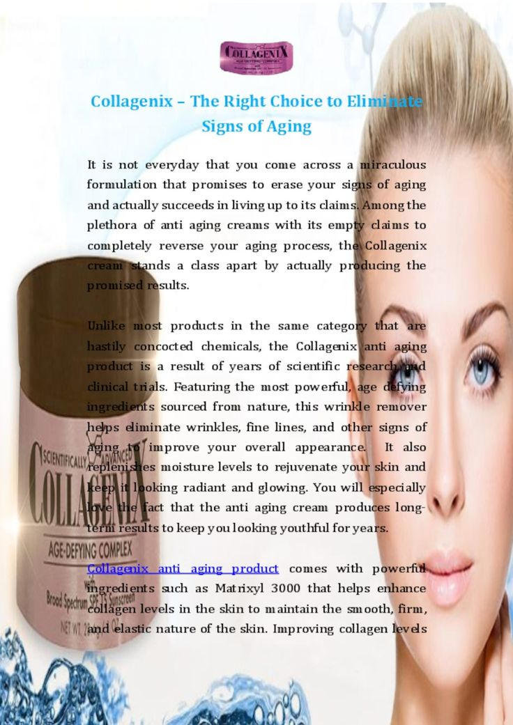 #Collagenix #anti #aging #product comes with powerful ingredients such as Matrixyl 3000 that helps enhance collagen levels in the skin to maintain the smooth