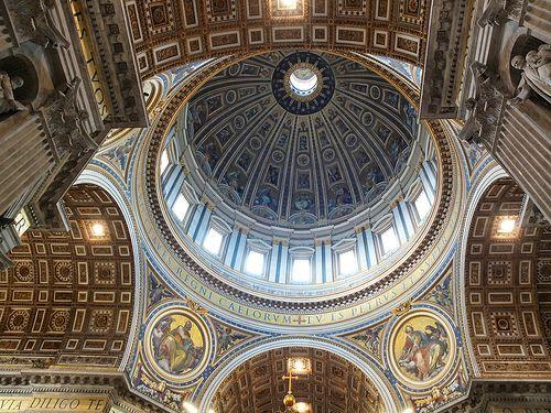 Inside Basilica di San Pietro (Saint Peter's Basilica)