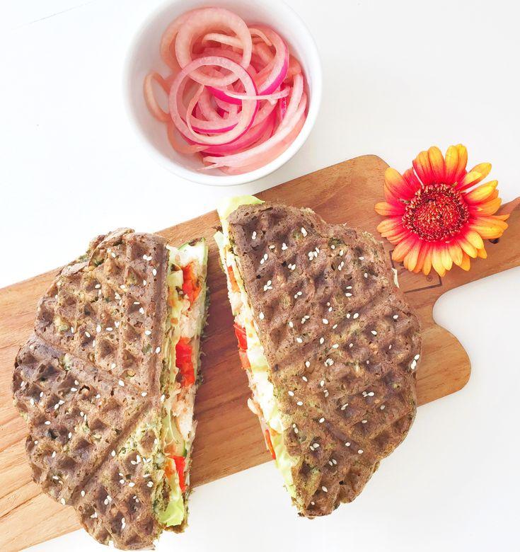 Grønne sandwichvafler til madpakken eller som Joe og The Juice toast..