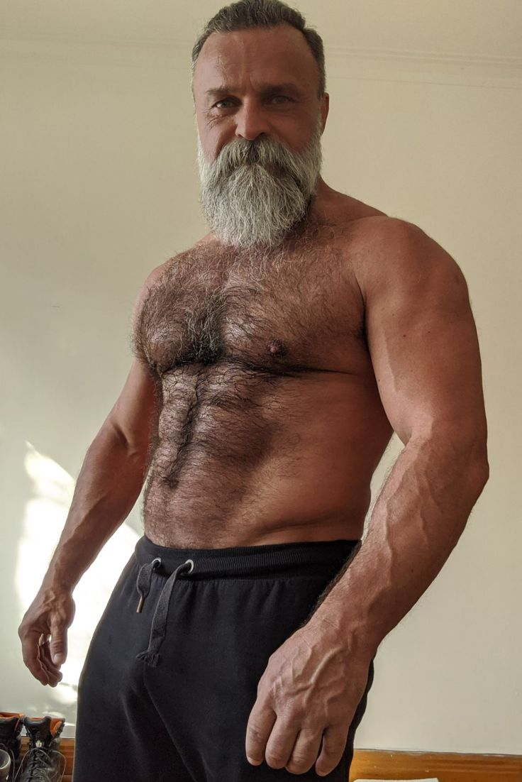 Pin by Larry Cronk on Bear dads | Hairy chested men