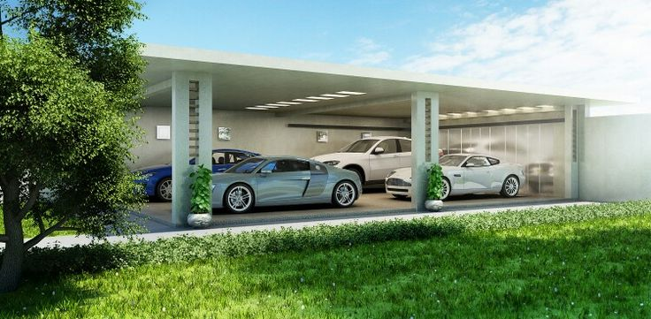 Vip garage design dubai