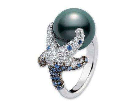 starfish engagement ring | Express true love with pearl engagement rings – Wedding Clan