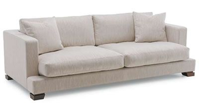 Maybe one like this... square lines, but not formal. Or stark. Looks comfy. This is from www.davidshaw.co.nz  #sofa