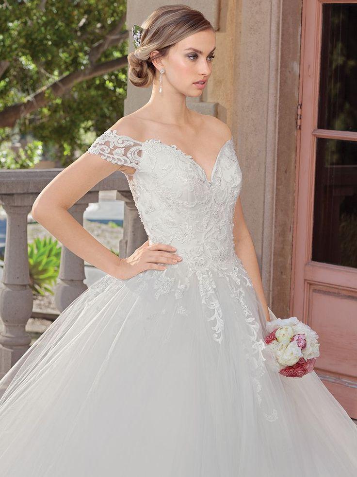 Casablanca bridal style 2312 gracie ball gowns wedding